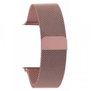 Pulseira Para Apple Watch Magnetico Milanese - Rose Gold 42mm